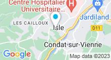 Plan Carte Terea Spa à Limoges