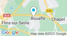 Plan Carte Piscine Fit Center - Salle de sport à Bouafle