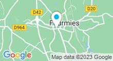 Plan Carte Cabinet de médecine douce Be Happy à Fourmies