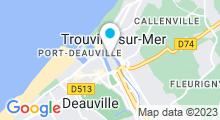 Plan Carte Spa Deep Nature de la Résidence Pierre et Vacances à Deauville