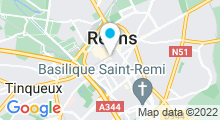Plan Carte Spa Deep Nature de la Caserne Chanzy à Reims