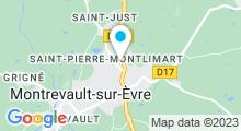 Plan Carte Piscine H2O à Saint-Pierre-Montlimart