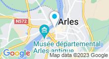 Plan Carte Centre d'aquasport O'Forme à Arles