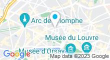 Plan Carte Sokha Royal Spa à Paris