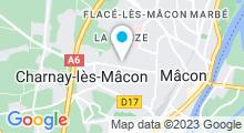 Plan Carte Jardin d'O à Charnay-lès-Mâcon