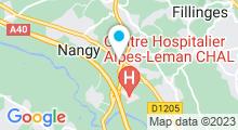 Plan Carte Private Hammam and Spa à Contamine-sur-Arve