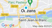 Plan Carte Institut de beauté Balnéo Spa à Orléns