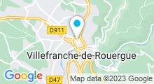 Plan Carte Coco&co Bien-être en Bastide à Villefranche-de-Rouergue