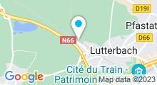 Plan Carte Hammam et Rituels à Lutterbach