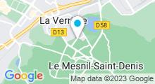Plan Carte Spa Marin Cécile Arnoux au Mesnil-Saint-Denis