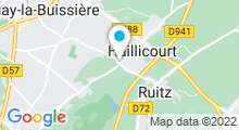 Plan Carte Izea Spa à Haillicourt