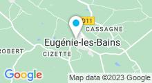 Plan Carte Spa de la Ferme thermale à Eugénie les Bains