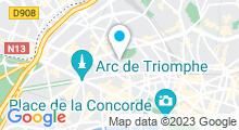Plan Carte Spa Mosaïc à Paris (8ème)
