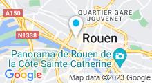 Plan Carte Spa du Drap d'Or à Rouen