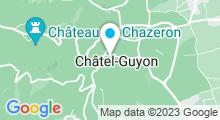 Plan Carte Thermes à Châtel-Guyon