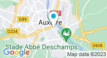 Plan Carte Balneïs Spa à Auxerre
