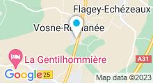 Plan Carte Spa de l'hôtel Le Richebourg**** à Vosne-Romanée