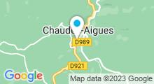 Plan Carte Thermes à Chaudes-Aigues