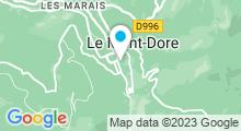 Plan Carte Thermes à Mont-Dore