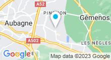 """Plan Carte Spa """"Espace Namasté"""" à Aubagne"""