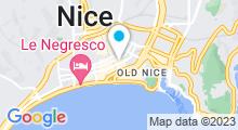 Plan Carte Elégance Spa Académie à Nice