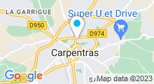 Plan Carte La Vie Spa à Carpentras