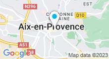 """Plan Carte Spa """"Institut du Cours"""" à Aix-en-Provence"""