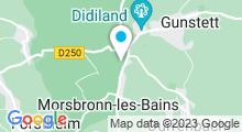 Plan Carte Thermes à Morsbronn-les-Bains