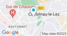 "Plan Carte Spa ""Nid'O"" du Club 7 à Montpellier"