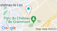 Plan Carte Spa du Domaine de Verchant à Castelnau-le-Lez
