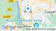 Plan Carte Spa Aqua Lys à Vichy