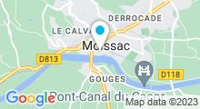 """Plan Carte Spa """"Le Miroir de Lucie"""" à Moissac"""