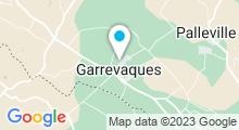 """Plan Carte Spa """"Les Soins de Colette"""" à Garrevaques"""