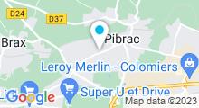 "Plan Carte Spa ""La Porte d'Isis"" à Pibrac"