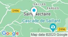 Plan Carte Thermes à Saint-Nectaire