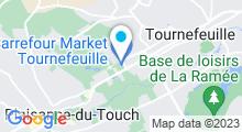 Plan Carte Amoï Spa à Tournefeuille