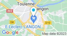 Plan Carte Spadiumzen à Langon