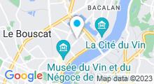 Plan Carte Spa Escale Détente à Bordeaux