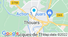 """Plan Carte Spa """"Nuage Poudré"""" à Thouars"""