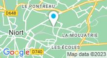 Plan Carte Spa L'Orient Espace à Niort