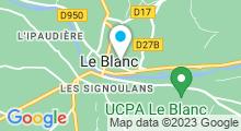 """Plan Carte Spa """"Secrets de Brenne"""" à Le Blanc"""