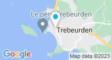 """Plan Carte Spa """"L'Espace Bleu Marine"""" à Trébeurden"""