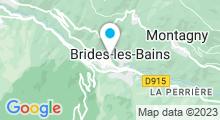 Plan Carte Thermes à Brides-les-Bains