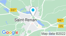 Plan Carte Spa Zenance à Saint-Renan