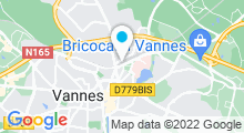Plan Carte Spa de la Villa Kerasy à Vannes