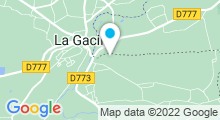 "Plan Carte Spa Yves Rocher ""La Grée des Landes"" à La Gacilly"