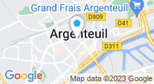 """Plan Carte Spa """"Les 5 Océans"""" à Argenteuil"""