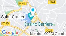 Plan Carte Spa Espace Amphorm à Enghien-les-Bains