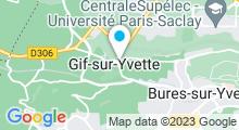 Plan Carte Spa Villa Esthética à Gif-sur-Yvette