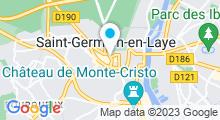 Plan Carte Spa L'Esprit des Sens à Saint-Germain-en-Laye